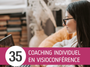 Tarifs coaching individuel visioconférence