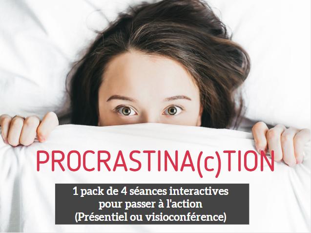 Procrastination pack 4 séances