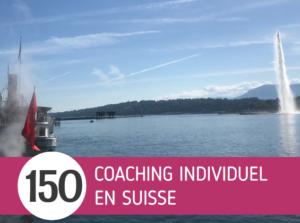 Tarifs coaching Suisse